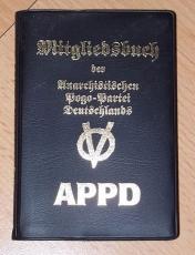 APPD-Original-Mitgliedsbuch (1995)