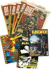 SCHUNDCOMIC-Paket: 9 Comics!